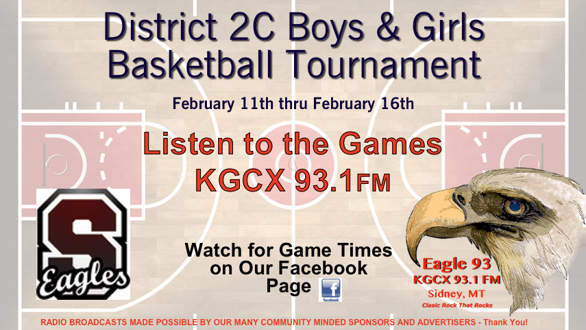 KGCX 93 1 FM to Broadcast District 2C Tournament | KGCX 93 1 FM