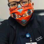 Dr. Michelle Tom -: Winslow Indian Health Center Former standout basketball player at Arizona State University. She is currently on the frontlines, helping patients on the Navajo Nation.