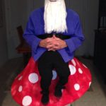 My Gnome costume which was constructed by my wife and I.: Gnome Costume