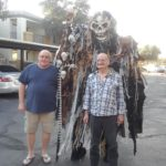 The Big Monster is terrorizing Tucson standing 9 feet tall!