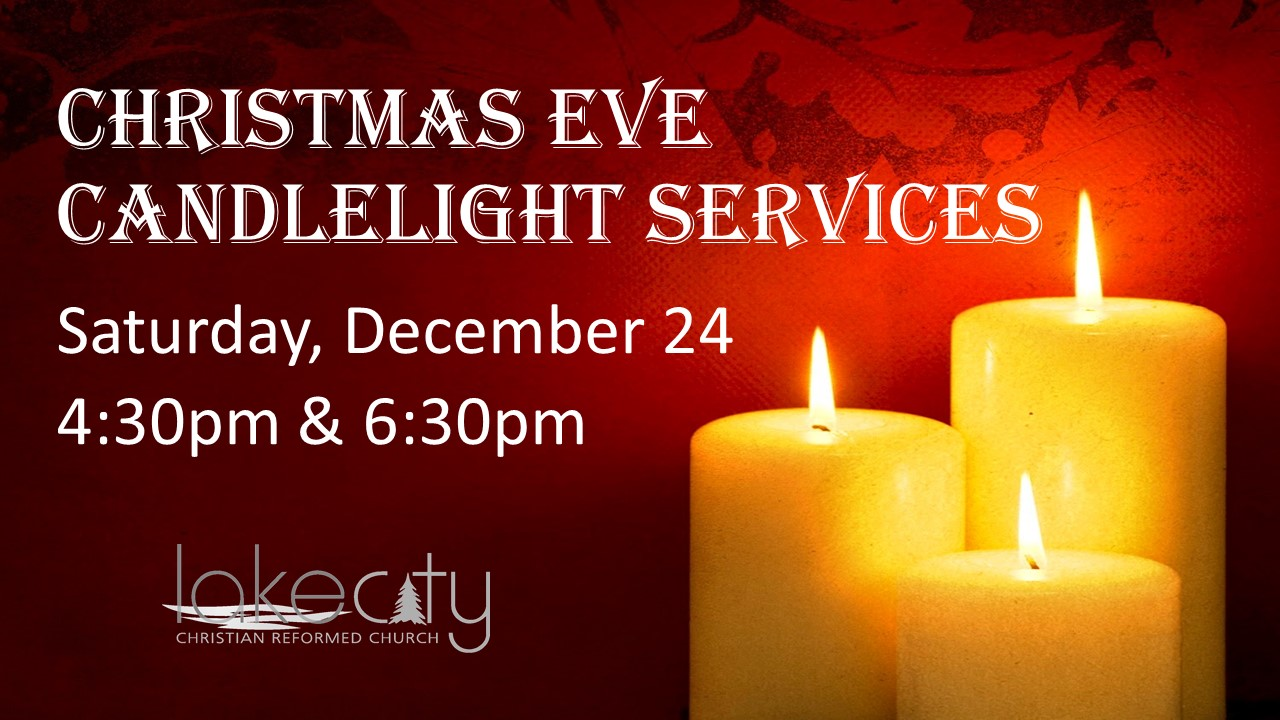 lake city crc christmas candlelight service
