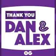 Thank You Dan & Alex