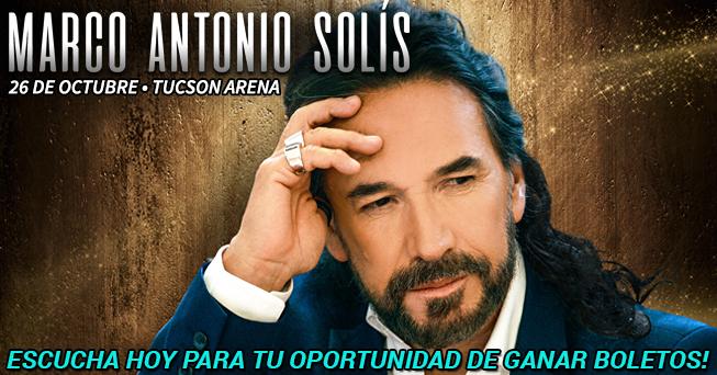 Marco Antonio Solis tickets - all dayparts