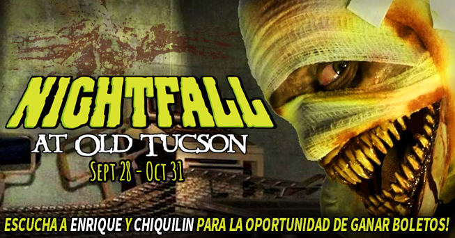 Nightfall tickets from Enrique and Chiquilin
