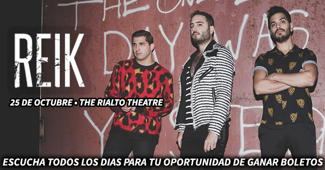 Reik tickets from all dayparts