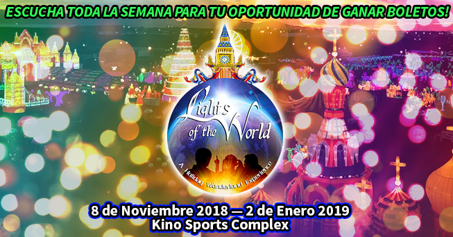 Lights of the World tickets - all dayparts