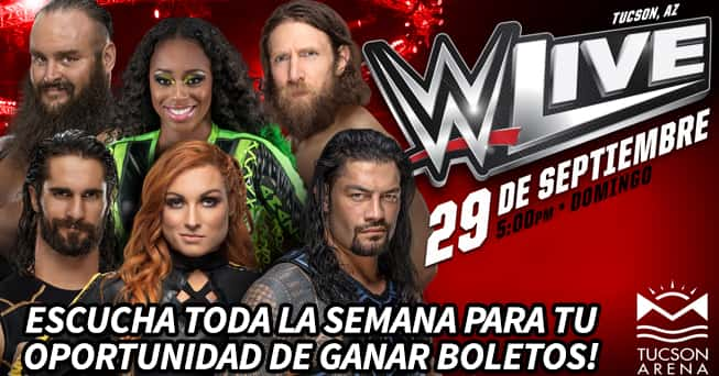 WWE tickets - all dayparts