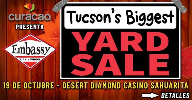 Tucson's Biggest Yard Sale – Fall 2019