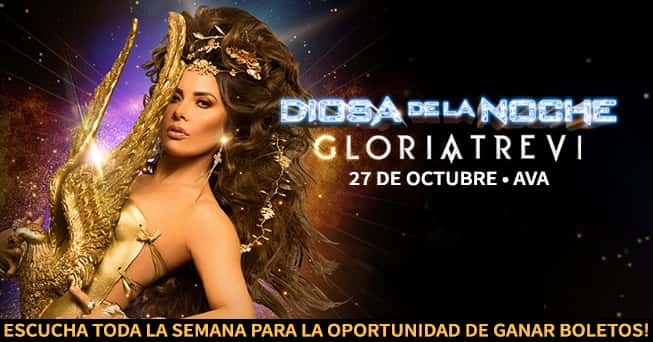 Gloria Trevi tickets from all dayparts