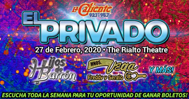 El Privado Feb 27 tickets - all dayparts