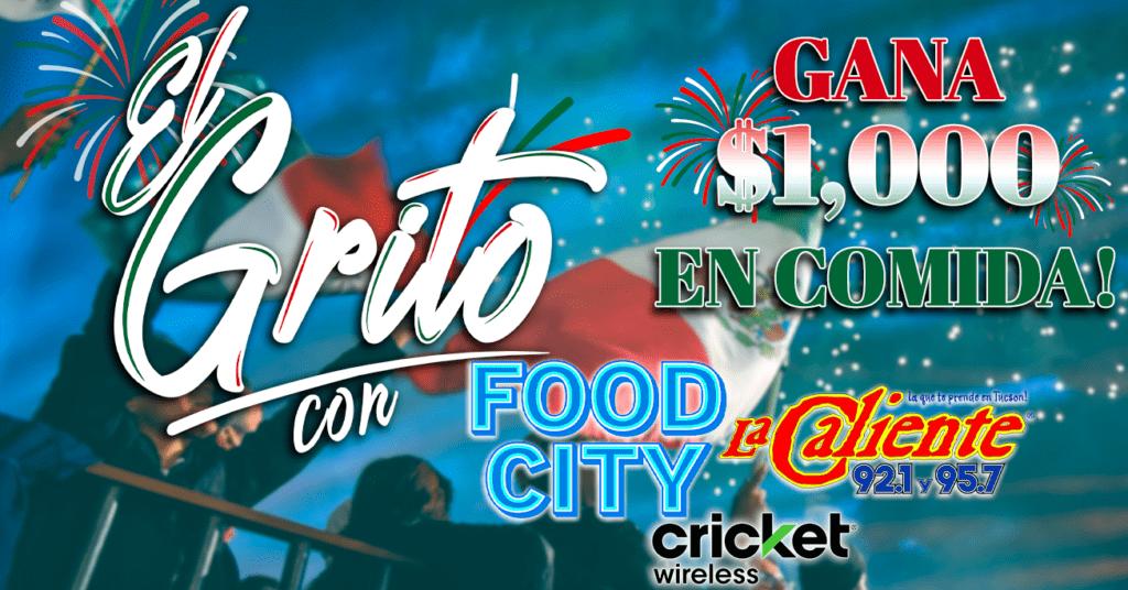 El Grito con Food City y La Caliente