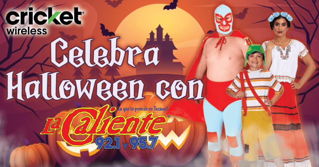 Celebra Halloween con La Caliente