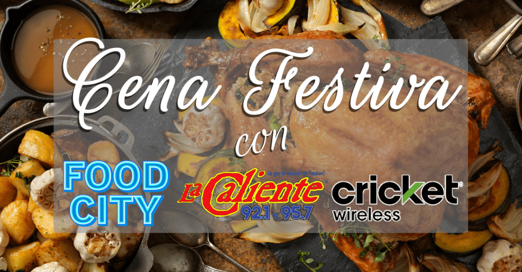 Cena Festiva Con Food City, Cricket, Y La Caliente