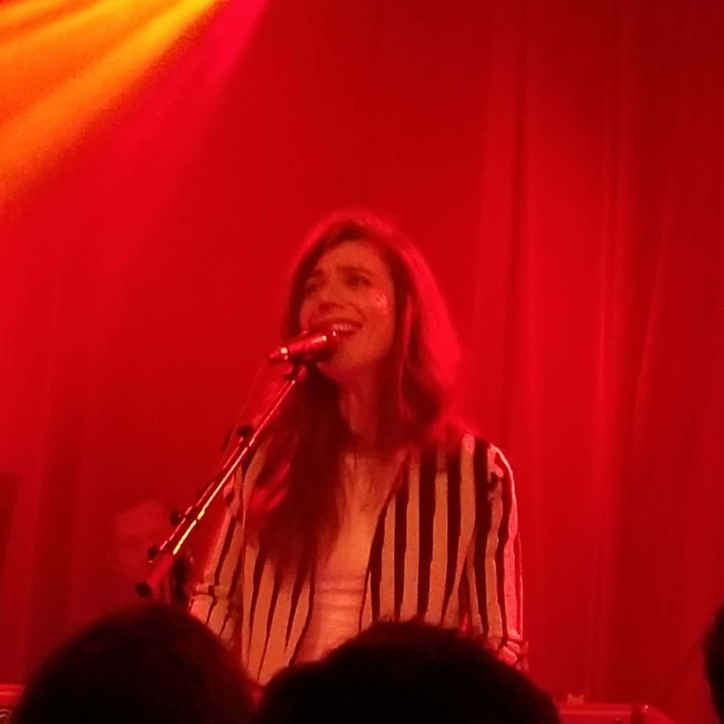 Julia Holter performing at Neumos