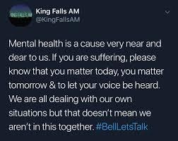 Screenshot from the King Falls AM Twitter