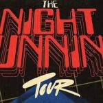 Night Running Tour Poster