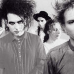 Black and white photo of the cure
