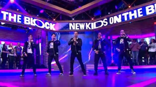 90s teen idols collide: New Kids on the Block's secret