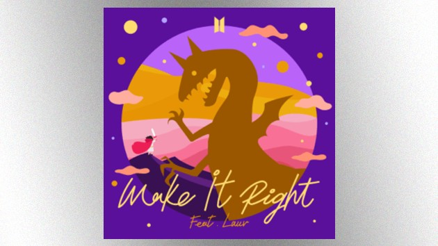 Bts And Lauv Drop Video Remix Of Make It Right Hits 102 7