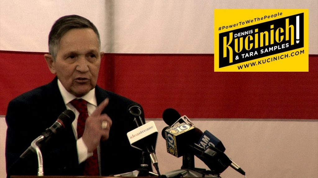 Kucinich will fight privatizing education