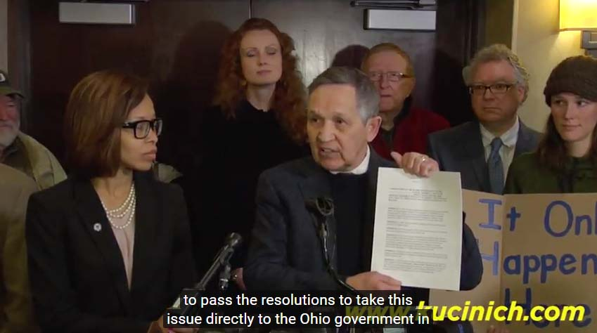 Kucinich Leads the Way in Assault Weapons Ban