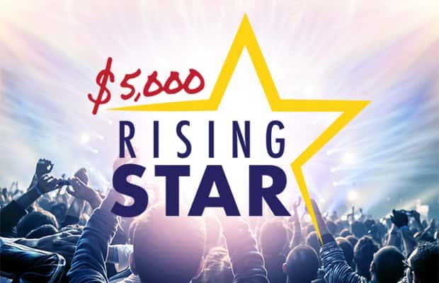 $5,000 Rising Star