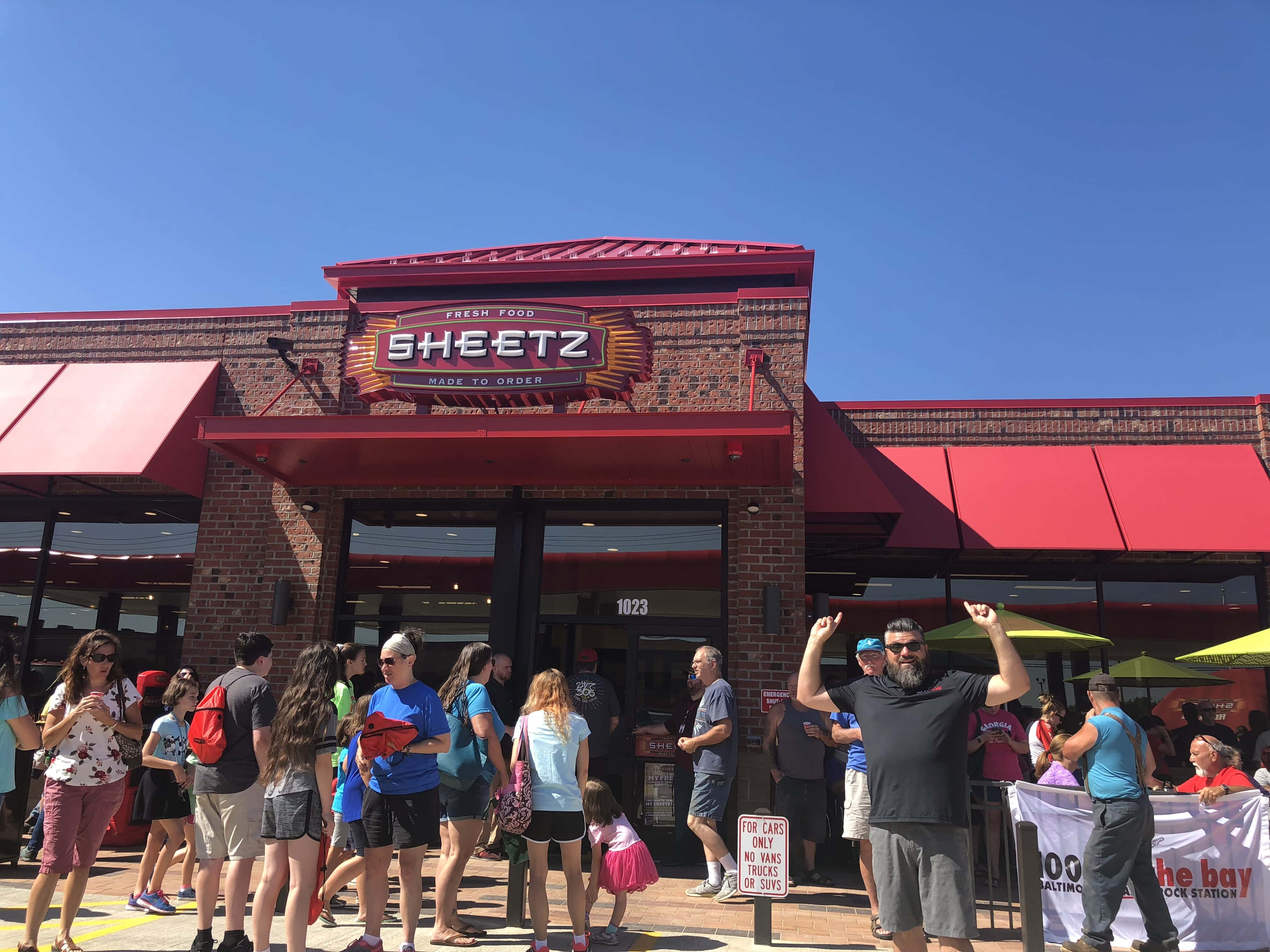 Sheetz Westminster Grand Opening With Huber 100 7 The Bay
