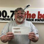 Cash-Winner-Ronnie-Gray: Ronnie from Newpark