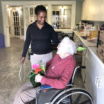 Helping at Nursing Homes: The Woodlands in Middle River