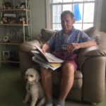 Colleen's Dad At Home In Ocean City: Staycation With Winnie