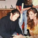 Colleen Carew with Don Henley: 1989