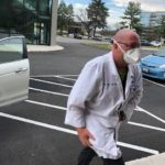 Everything changed very quickly as this Shock Trauma doctor dashed in for take-out.