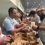 The Boat Show and our Crab Pickin Contest in January.