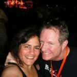 Wendy and Mikey B at the 38 Special MD State Fair Concert 8/22/2014