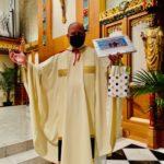 Fr, Jeff thanks his IHM Parish.