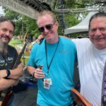 Mike Brilhart with Dave DeMarco and Bobby Hird.