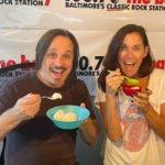 Matt Davis and Colleen Carew love WEIS Ice Cream!