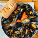 Blood Mary Mussels
