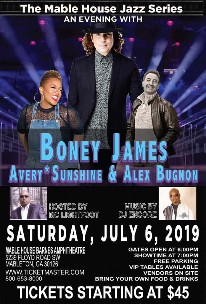 Boney James, Avery Sunshine & Alex Bugnon Concert | WJZA