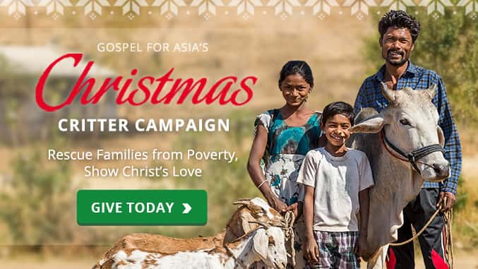 Gospel for Asia Christmas Campaign KBRT