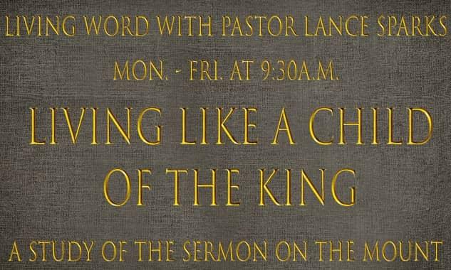 Lance Sparks-Sermon on the Mount