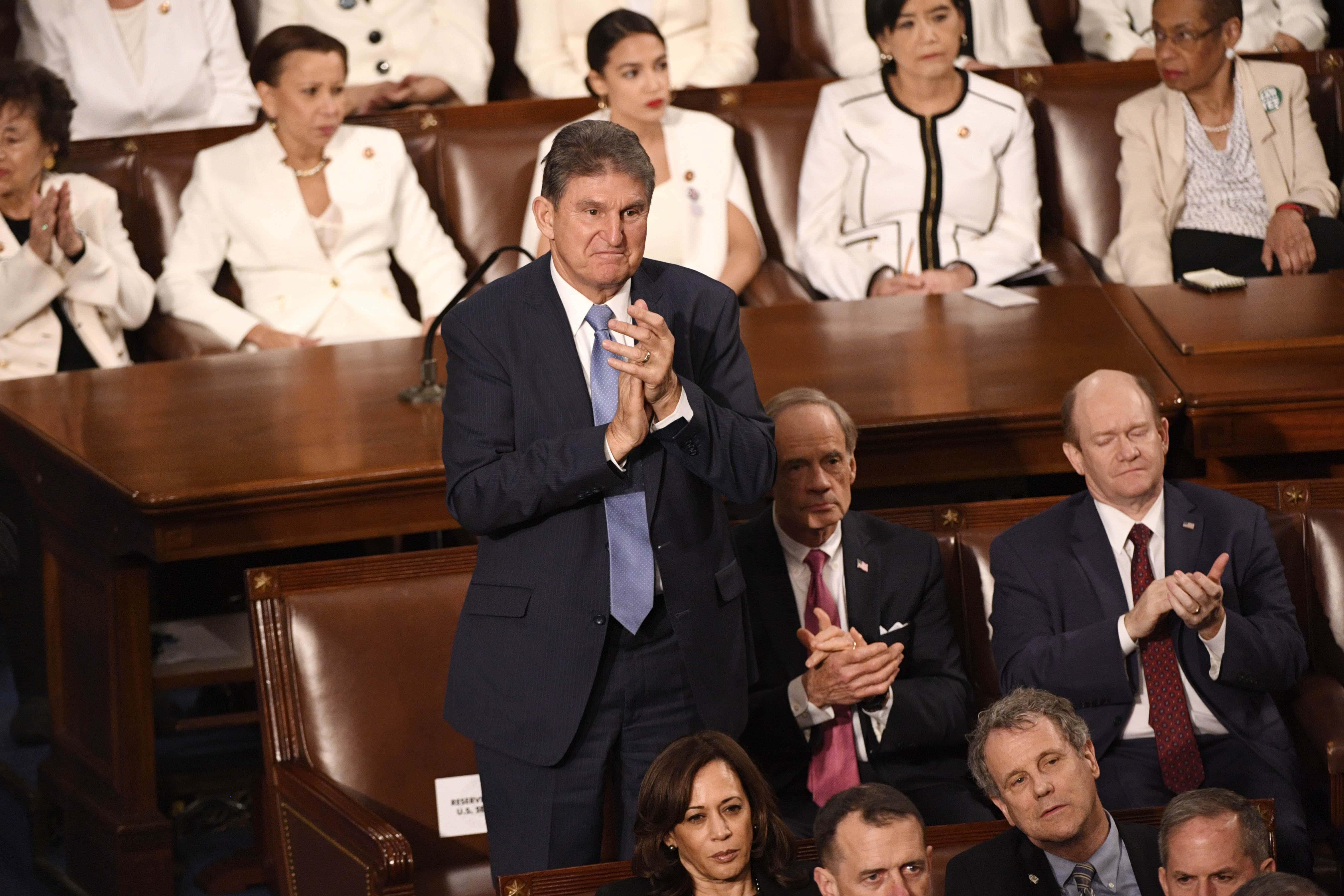 West Virginia Senator Joe Manchin Says He Won't Run For