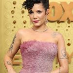 Entertainment: 71st Annual Emmy Awards: Sep 22, 2019; Los Angeles, CA, USA; Halsey arrives at the 71st Emmy Awards at the Microsoft Theater. Mandatory Credit: Dan MacMedan-USA TODAY