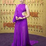 Entertainment: 71st Annual Emmy Awards: Sep 22, 2019; Los Angeles, CA, USA; Julia Garner arrives at the 71st Emmy Awards at the Microsoft Theater. Mandatory Credit: Dan MacMedan-USA TODAY