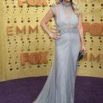 Entertainment: 71st Annual Emmy Awards: Sep 22, 2019; Los Angeles, CA, USA; Christina Applegate arrives at the 71st Emmy Awards at the Microsoft Theater. Mandatory Credit: Dan MacMedan-USA TODAY