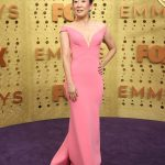 Entertainment: 71st Annual Emmy Awards: Sep 22, 2019; Los Angeles, CA, USA; Sandra Oh arrives at the 71st Emmy Awards at the Microsoft Theater. Mandatory Credit: Dan MacMedan-USA TODAY