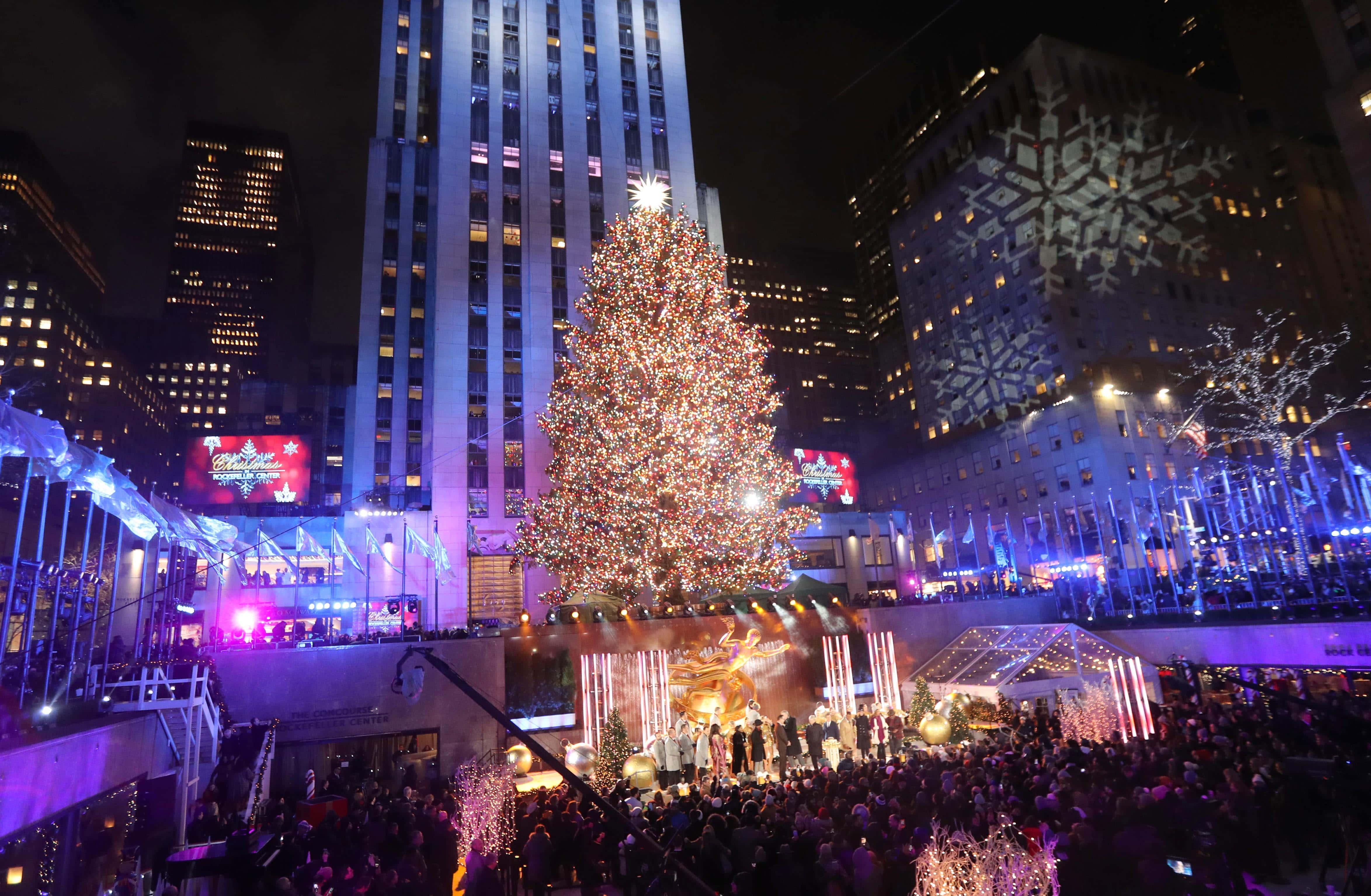 Christmas in NYC: Rockefeller Center Tree Lighting