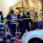 Syndication: NorthJersey: A clean up crew sifts through the debris at the Jersey City Kosher Supermarket the morning after a shoot out with police in Jersey City, N.J. on Wednesday Dec. 11, 2019. One police officer, the two shooters and three civilians were killed.After The Shooting