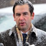 Syndication: NorthJersey: Jersey City Mayor Steven Fulop gives a press conference across the street from the Jersey City Kosher Supermarket the morning after a shoot out with police in Jersey City, N.J. on Wednesday Dec. 11, 2019. One police officer, the two shooters and three civilians were killed.After The Shooting