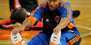 Stephon Marbury with the Knicks in 2008.